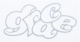 KAWA-LOGO ステッカー マルロゴTYPE ラメVER シルバー