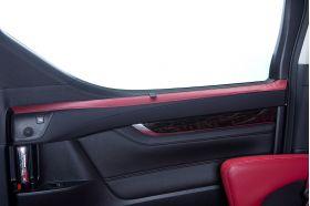 アクセントラインセット 30系ALPHARD&VELLFIRE 後部座席ドア ボルドー×ブラック