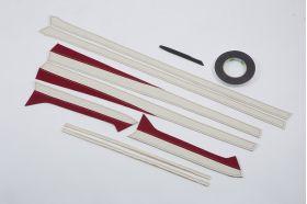 アクセントラインセット 30系ALPHARD & VELLFIRE PREMIUM spec. レッド×ホワイト