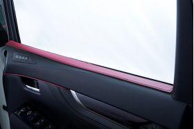 アクセントラインセット 30系ALPHARD&VELLFIRE 運転席側ドア ボルドー×ブラック