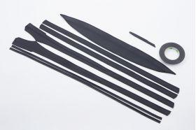 アクセントラインセット 50PRIUS専用 ブラック×ブラック