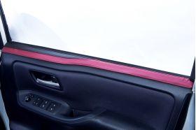 アクセントラインセット 80NOAH&VOXY&ESQUIRE専用 ブラック×ボルドー 運転席側