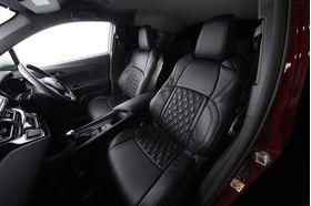 C-HR シートカバー ダイヤキルト ブラック×ブラック