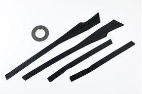 アクセントラインセット C-HR ブラック×ブラック