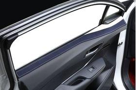 アクセントラインセット C-HR ブラック×ホワイト装着イメージ
