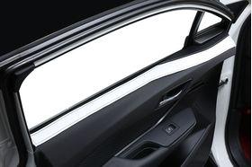 アクセントラインセット ホワイト×ブラック 装着イメージ