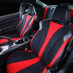 グレイス シートカバー 車種限定 86 & BRZ /PREMIUM ボルドー×ブラック